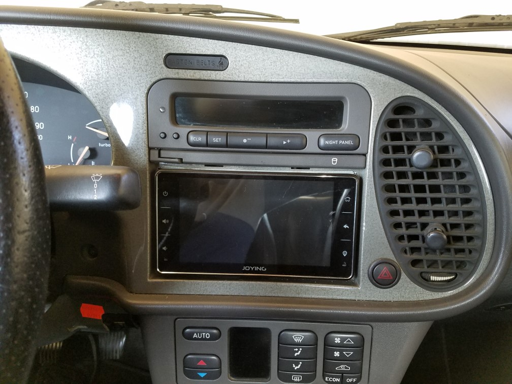 How to fit a double-din nav radio into a 98-03 x308 XJ8